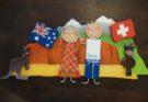 Handbemalte Familien-Türschilder